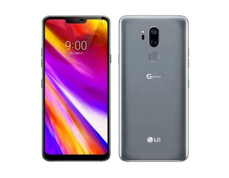 En cuanto a su diseño, nos encontramos con un celular de unas dimensiones de 153.2 X 71.9 X7.9mm y con un peso de 162 gr. con una proporción de pantalla de 19.5:9 con un increíble brillo de pantalla, y también se une a la moda de agregarle notch al móvil, algo que no se había visto antes en LG.