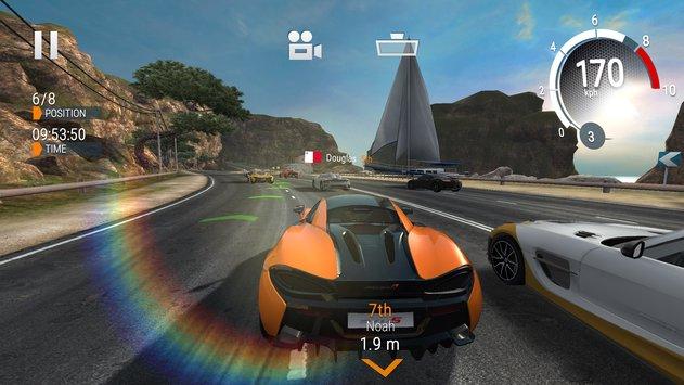 Top 5 Juegos de carreras para tu Android | Asphalt 9