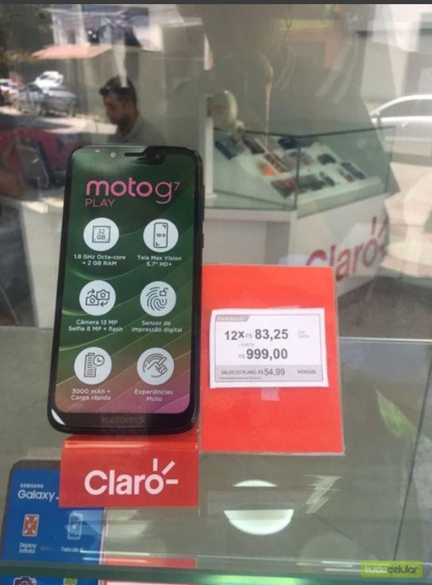 moto g7 play precio