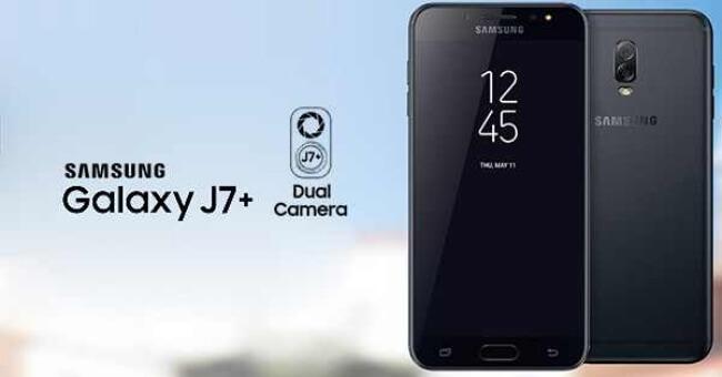 Galaxy j7 Plus actualización