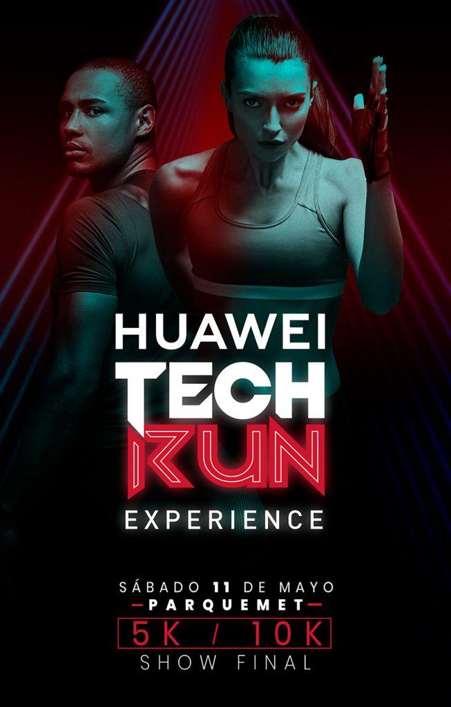 Huawei Tech Run: Huawei confirma Últimos cupos para inscribirse a la corrida en el parque metropolitano