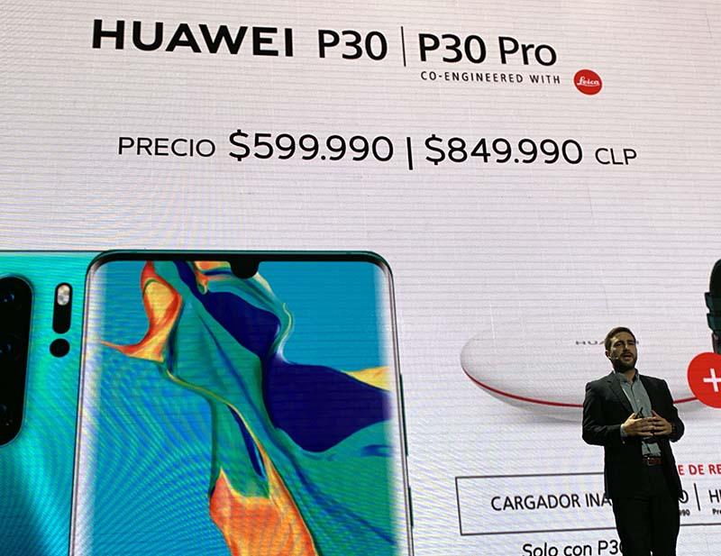 Huawei p30 chile