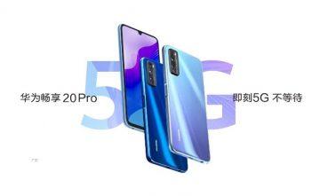 Huawei Enjoy 20 Pro Así es el nuevo celular de Huawei con el procesador Dimensity 800 de MediaTek