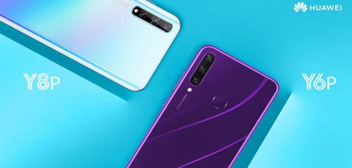 Huawei Y6p y Huawei Y8p son oficiales en Chile, conoce todos los detalles de estos nuevos celulares