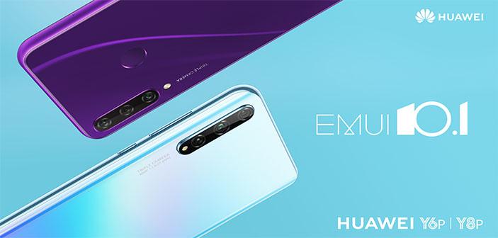 Huawei y6p y huawei y8p caracteristicas