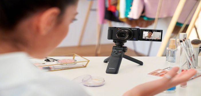 Sony presenta su nueva cámara para vloggers ZV-1 diseñada para creadores de contenidos