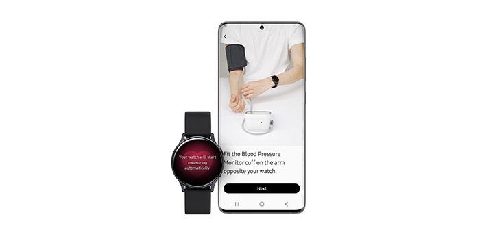 watch active 2 presión arterial