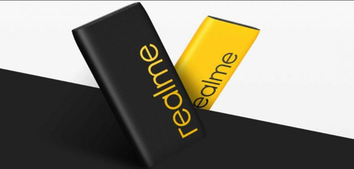 Esta es la nueva batería portátil de Realme con 10.000 mAh y carga de 30W