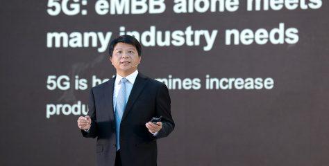 """Huawei: """"Actualmente hay 81 redes de 5G que entregan servicios a 9 millones de usuarios"""""""