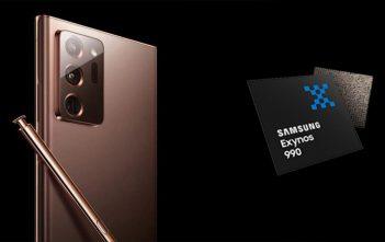 Los Galaxy Note 20 y Note 20 Ultra podrían mantener el Exynos 990