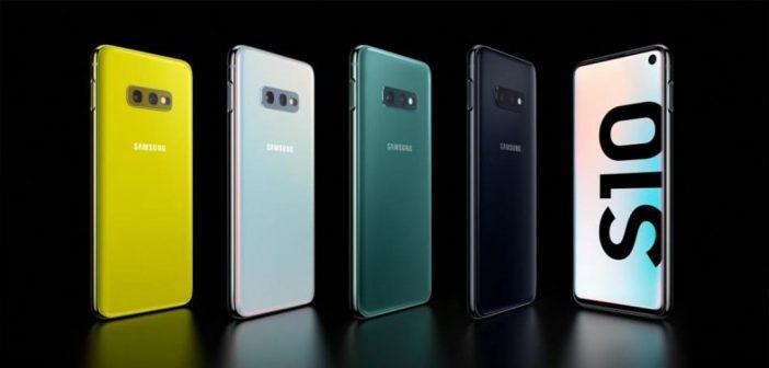Los Galaxy S10 comienzan a recibir un nuevo parche de seguridad
