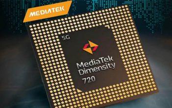 MediaTek presenta su nuevo procesador Dimensity 720 5G, mira los detalles