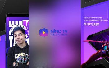 Nimo Tv la plataforma de videojuegos en vivo, ya está disponible en AppGallery