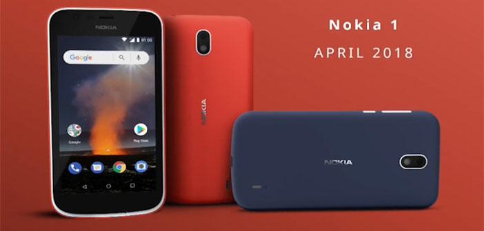 Nokia 1 Android 10 Go
