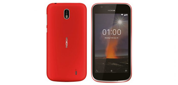 Nokia 1 comienza a recibir Android 10 GO