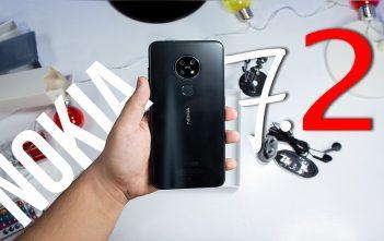 Nokia 7.2 video