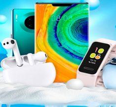 Huawei lanza una promoción de invierno y solo por descargar apps en AppGallery podrás ganar un Huawei Mate 30 Pro o una Huawei Band 4