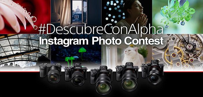 Sony está realizando un concurso de fotografía en Instagram_
