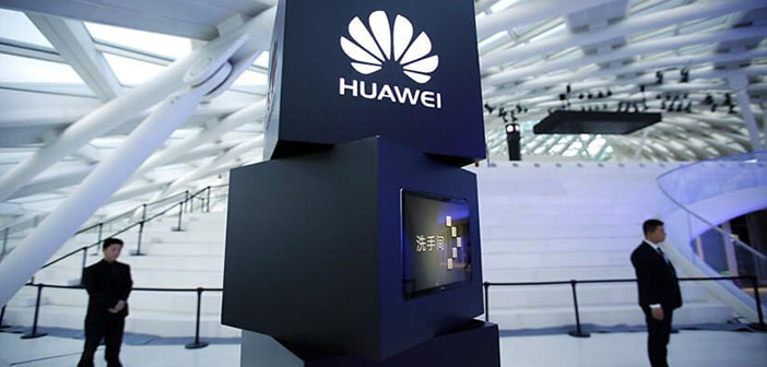 huawei logo china compañía