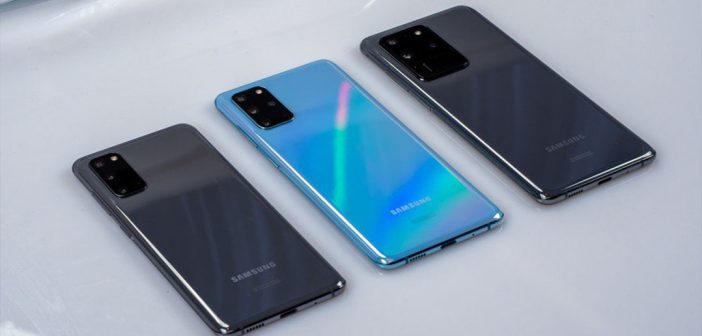 Galaxy S20, S20+ y S20 Ultra comienzan a recibir One UI 2.5