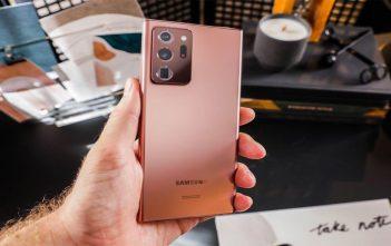 Los Galaxy Note 20 ya están recibiendo su primera actualización