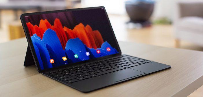 Ya comenzó la preventa de la Galaxy Tab S7 y S7+ en Chile