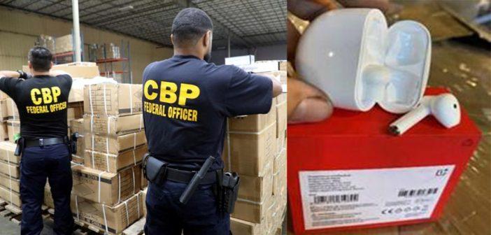 Aduana estadounidense decomisa 2,000 OnePlus Buds, pensaban que eran AirPods falsificados
