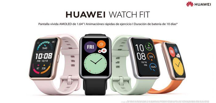 El nuevo Huawei Watch FIT llega al retail nacional
