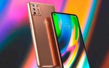 Motorola trae a Chile los nuevos Moto G9 Play y G9 Plus