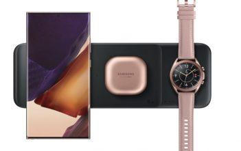 Samsung Wireless Charger Trio, así es el nuevo cargador inalámbrico de Samsung