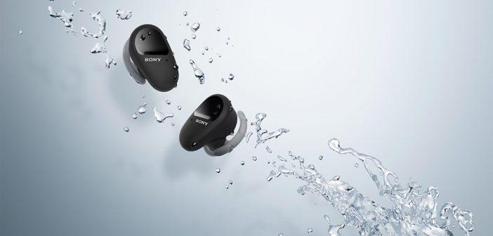 Sony WF-SP800N, así son los nuevos audífonos inalámbricos deportivos de Sony