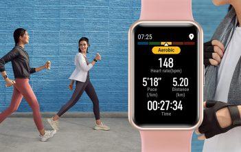 Quema calorías, comparte tu desempeño y gana con el nuevo Huawei Watch Fit