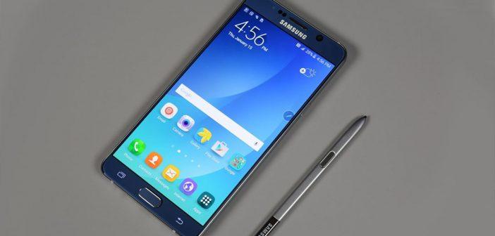 Galaxy Note 5 y Galaxy S6 reciben una nueva actualización