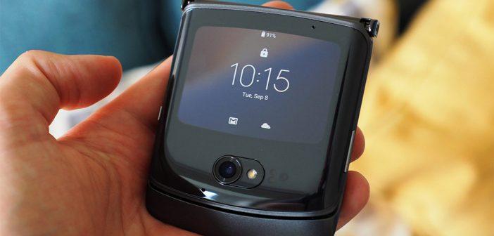 Motorola presenta en Chile al nuevo Moto Razr 5G, el plegable de la compañía
