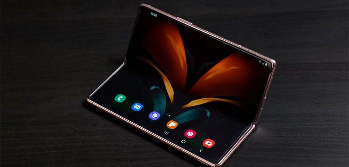Samsung podría presentar un plegable con cámara bajo la pantalla