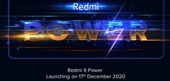 Redmi 9 Power se presentará el 17 de diciembre