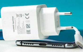 Huawei certificó un cargador de 135W en China
