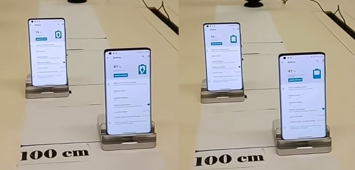 Motorola también presentó su tecnología de carga remota