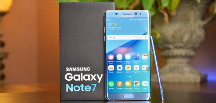 Galaxy Note 7 FE de hace 3 años, recibe el parche de seguridad de febrero 2021