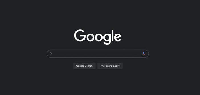La búsqueda de Google en escritorio muy pronto tendrá modo oscuro