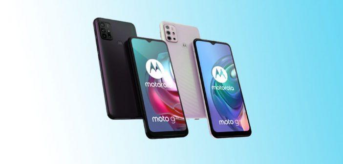 Motorola Moto G10 y Moto G30 son oficiales, mira los detalles