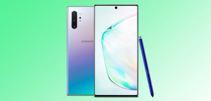 Serie Galaxy Note 10 comienza a recibir parche de seguridad de febrero