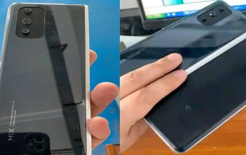 Este sería el celular plegable Mi MIX de Xiaomi