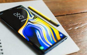 Galaxy Note 9 recibe actualización de seguridad de abril 2021
