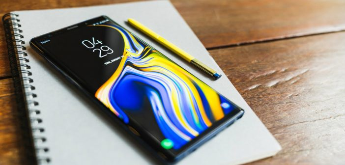 Galaxy Note 9 recibe actualización de seguridad de abril 2021