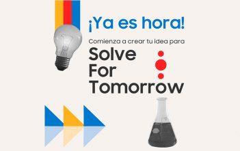 Conéctate al lanzamiento en vivo del concurso escolar de Samsung Solve for Tomorrow