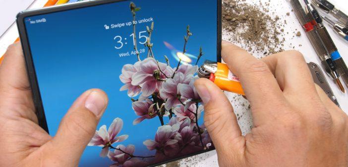 Huawei Mate X2 sobrevive a dura prueba de resistencia
