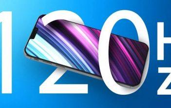 Samsung fabricará pantallas AMOLED de 120Hz para los iPhone 13
