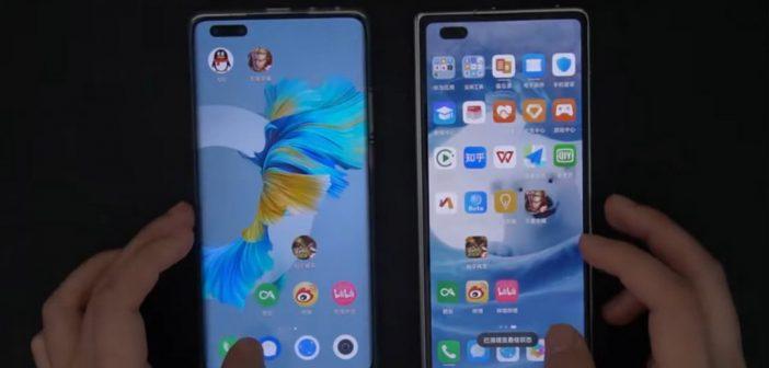 Video muestra una comparación cara a cara entre HarmonyOS y EMUI 11