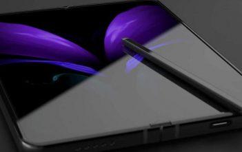 Así se guarda el S-Pen en el Galaxy Z Fold 3